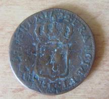 France - Monnaie Demi-Sol Louis XV 1722 K (Bordeaux) - 987-1789 Monnaies Royales