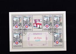 (K 4435a) Tschechische Republik, KB 196, Gest. - Blocks & Sheetlets