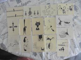 LOT DE  15  CARTES  POSTALES NEUVES  EDITIONS DUBOUT - 5 - 99 Cartes