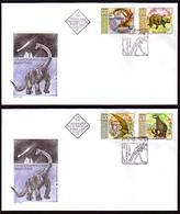 BULGARIA / BULGARIE - Animals Prehistorics - 2003 - 2 FDC - FDC