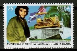 Cuba 2018 / Che Guevara MNH Santa Clara Battle / Cu13238  C3-7 - Celebridades