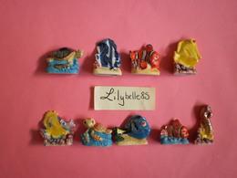 Serie DISNEY Très Rare 10 Fèves PROTO - LES AVENTURES DE NEMO 2014 ( Feve Figurine Miniature ) - Disney