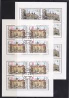 (K 4435b) Tschechische Republik, KB 192/93, Gest. - Blocks & Kleinbögen
