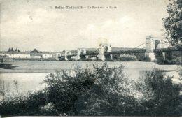 CPA - SAINT-THIBAULT - LE PONT SUR LA LOIRE - France