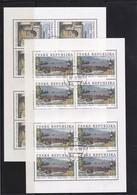(K 4435c) Tschechische Republik, KB 218/19, Gest. - Blocks & Kleinbögen