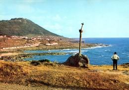 Espagne - Galicia - La Guardia - Pontevedra - Vista Parcial. Al Fondo Santa Tecla - Alarde Oviedo Nº 8 - 6378 - Pontevedra