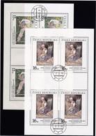 (K 4435e) Tschechische Republik, KB 201/02, Gest. - Blocks & Sheetlets