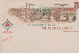 BRASSERIE SAINT-ELOI PH. WEBEL & FILS TOURS - Publicité