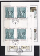 (K 4436a) Tschechische Republik, KB 161/63, Gest. - Blocks & Kleinbögen