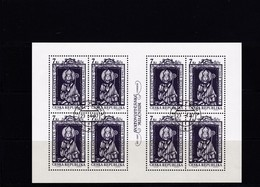 (K 4436b) Tschechische Republik, KB 141, Gest. - Blocks & Kleinbögen