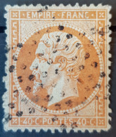 FRANCE - Canceled - YT 23 Mi 22 - 40c - 1862 Napoléon III