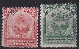 HAITI [1898] MiNr 0042-43 ( O/used ) - Haiti