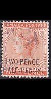 JAMAIKA JAMAICA [1890] MiNr 0026 ( O/used ) - Jamaica (...-1961)