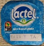 Egypt - Couvercle De Yoghurt Lactel ACN (foil) (Egypte) (Egitto) (Ägypten) (Egipto) (Egypten) Africa - Coperchietti Di Panna Per Caffè