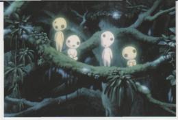 Postcard - Studio Ghibli - Princess Mononoke - Night Life - New - Unclassified