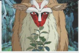 Postcard - Studio Ghibli - Princess Mononoke - Could It Be A Nanny Goat - New - Unclassified