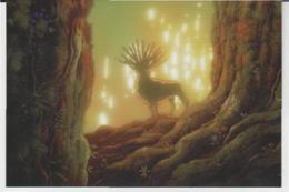 Postcard - Studio Ghibli - Princess Mononoke - What A Vision - New - Unclassified