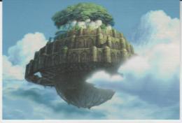 Postcard - Studio Ghibli - Castle In The Sky - It Is  - New - Unclassified