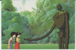 Postcard - Studio Ghibli - Castle In The Sky - Meet My Gardner  - New - Unclassified