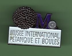 PETANQUE *** MUSEE INTERNATIONAL *** 1037 (80) - Pétanque