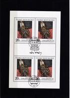 (K 4436d) Tschechische Republik, KB 125, Gest. - Blocks & Sheetlets