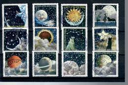 1yt-1324 A 1335-correspondances Planetaires-jolis Cachets Ronds - Frankreich