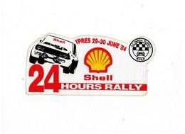 ADESIVO STICKER AC TARGA FLORIO IPER 24 HOURS RALLY SHELL MAXI 10X22 - Adesivi