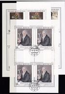 (K 4437b) Tschechische Republik, KB 96/98, Gest. - Blocks & Sheetlets