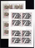 (K 4437e) Tschechische Republik, KB 39/40, Gest. - Blocks & Sheetlets