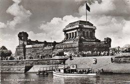 KOBLENZ-DEUTSCHES ECK-NON  VIAGGIATA   -REAL PHOTO - Koblenz