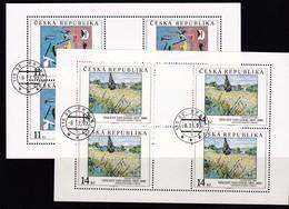 (K 4437f) Tschechische Republik, KB 26/27, Gest. - Blocks & Sheetlets