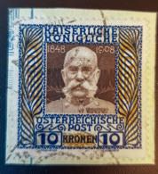 AUSTRIA - Canceled - ANK 156 - Emperor Franz Joseph - 10K - On Paper - Gebraucht