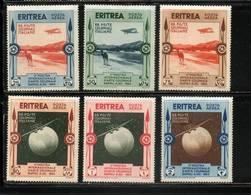 ERYTHREE     NEUF  P. A.    N°  1 à 6  N**/N*      Cte: 30,00 €  Série Complète - Eritrea