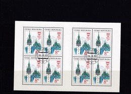 (K 4437g) Tschechische Republik, KB 9, Gest. - Blocks & Sheetlets