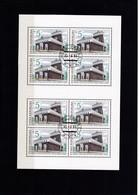 (K 4437g) Tschechische Republik, KB 6, Gest. - Blocks & Sheetlets