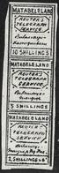 508 - BRITISH RHODESIA - 1894 - TELEGRAPH  - FORGERIES - FAUX - FALSCHEN - FAKES - Briefmarken