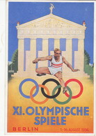 "III. Reich,  Propaganda Karte "" XI. Olympische Spiele, Berlin "" - Weltkrieg 1939-45"