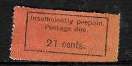 513 - ZANZIBAR - 1900 - TAXE, DUES - FORGERY' - FAUX - FAKE - FALSO - Briefmarken