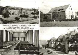 41269884 Karlsburg Greifswald Institut Gerhardt Katsch Schloss Karlsburg Greifsw - Deutschland