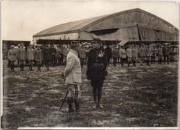 PHOTO ORIGINALE 1914-1918 [17X13] Remise De La Légion D'honneur à Guynemer - War, Military