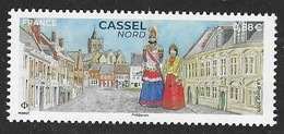 FRANCE, 2019, MNH,COSTUMES, CASSEL NORD,  1v - Costumes