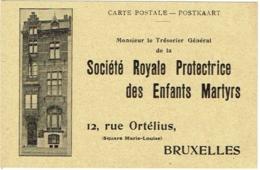 Bruxelles. Société Royale Protectrice Des Enfants Martyrs. Rue Ortélius - België