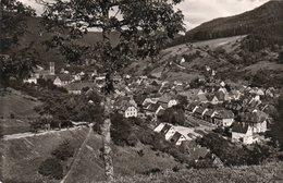KLOSTER UND KURSTADT ALPIRSBACH- VIAGGIATA 1967  -REAL PHOTO - Alpirsbach