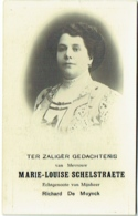Doodsprentje/Image Mortuaire. Schelstraete/De Muynck. Evergem 1872/1933. - Images Religieuses