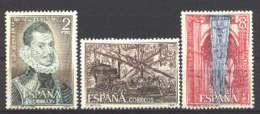 Spain 1971 - Lepanto Ed 2055-57 (**) Mi 1950-1952 - 1931-Hoy: 2ª República - ... Juan Carlos I