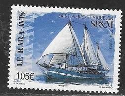 ST. PIERRE ET MIQUELON, SPM, 2019, MNH, SHIPS,  1v - Barche