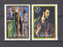 Spain. 1982. El Greco Ed 2666-67 (**) Mi 2552-2553 - 1931-Heute: 2. Rep. - ... Juan Carlos I