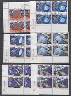 Cuba 1980 Space 6v Bl Of 4 Used (44138) - Cuba