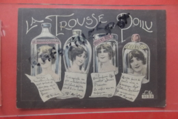 "Cp "" La Trousse Du Poilu"" - Umoristiche"