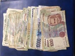 Lot De 100 Billets Italie Dans L état - Italie
